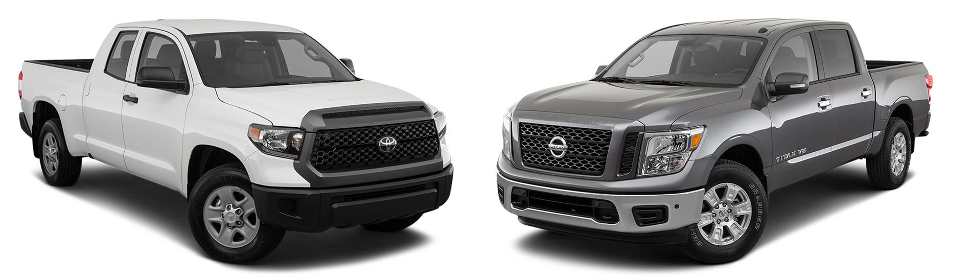 2019 Tundra Vs 2019 Nissan Titan