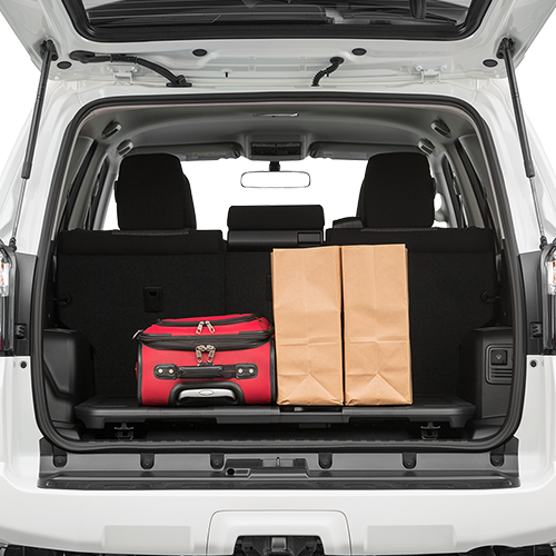 4Runner Trunk Space
