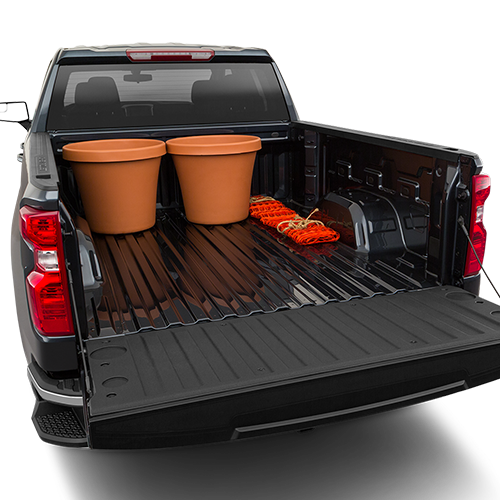 2019 Chevrolet Silverado Trunk space