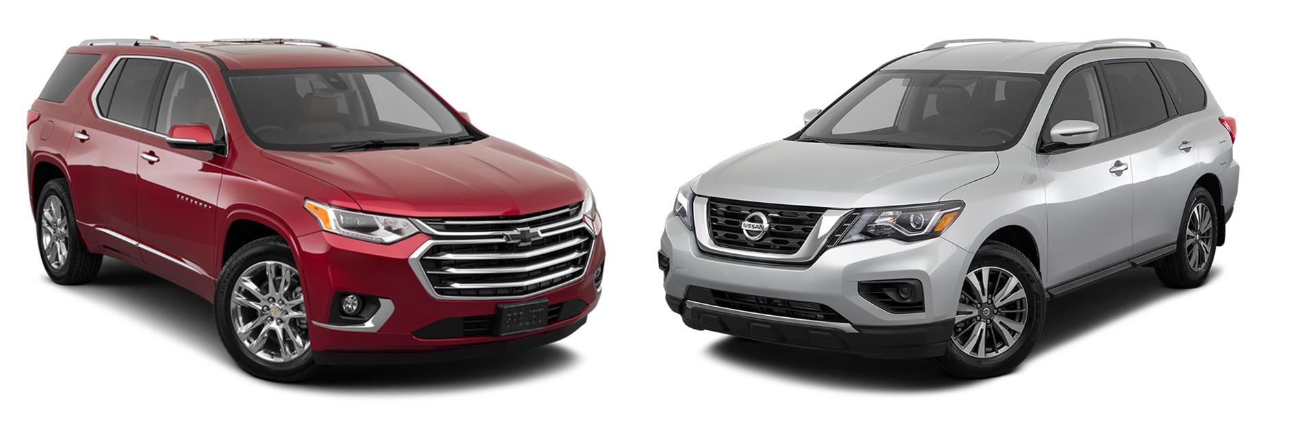Nissan Pathfinder vs Traverse