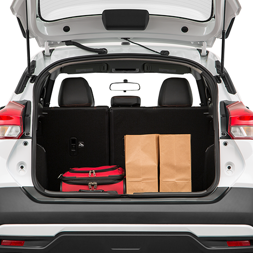 Nissan Kicks Trunk space