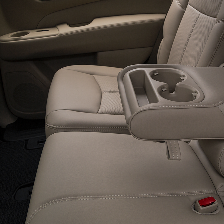 2017 Nissan Pathfinder Middle Console