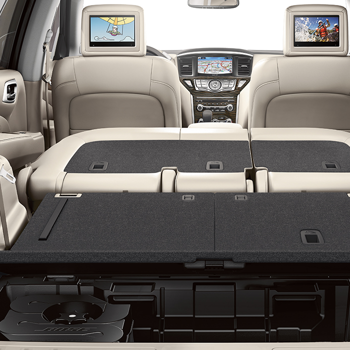 Nissan Pathfinder Seats Folded Down