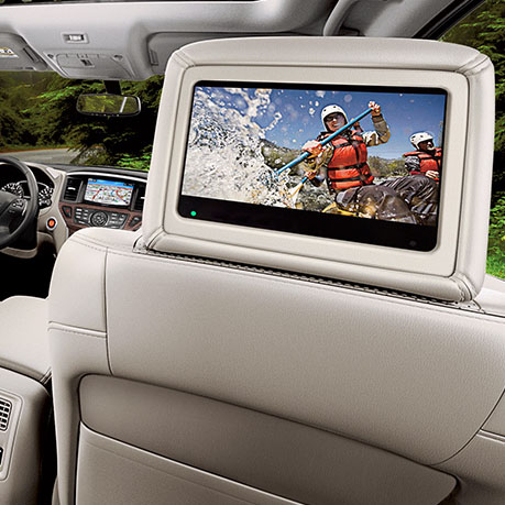 Nissan Pathfinder Seat TV
