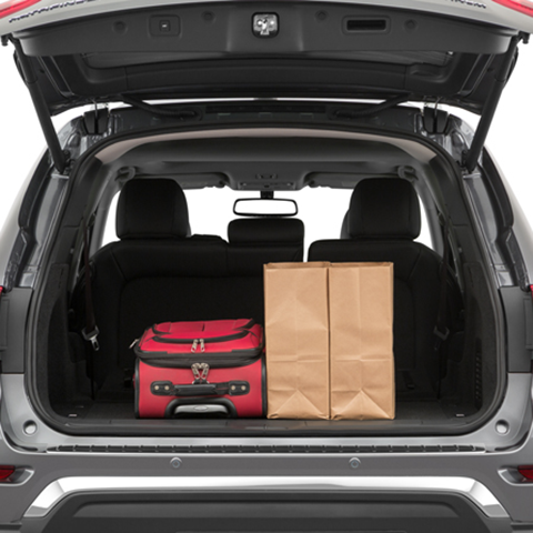 Nissan Pathfinder Trunk Space