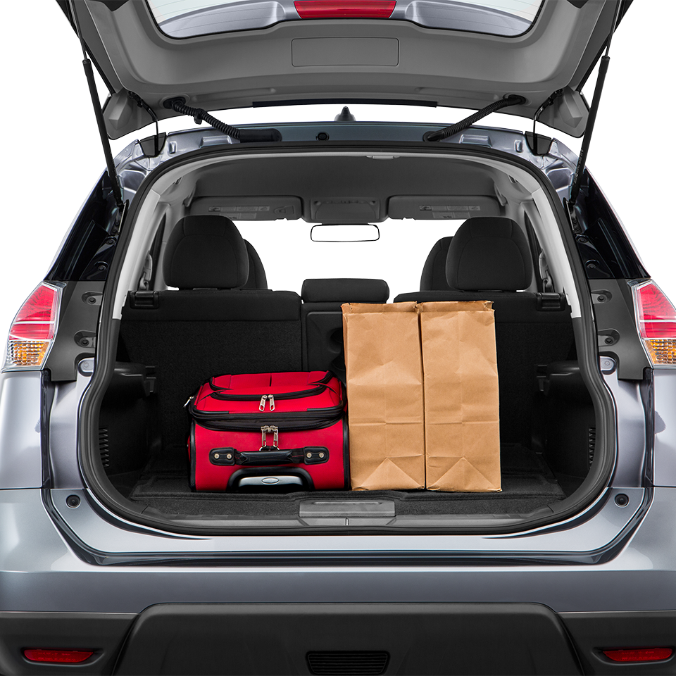 2016 Nissan Rogue Trunk space