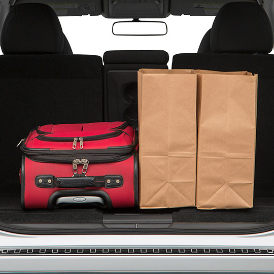 Nissan Rogue Trunk Space