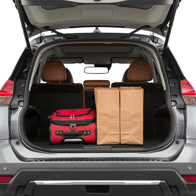 2019 Nissan Rogue Trunk space