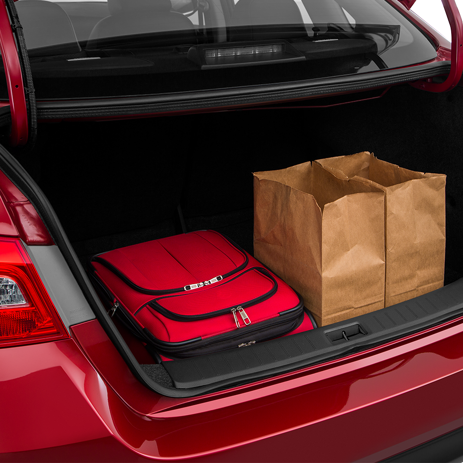2016 Nissan Sentra Trunk space