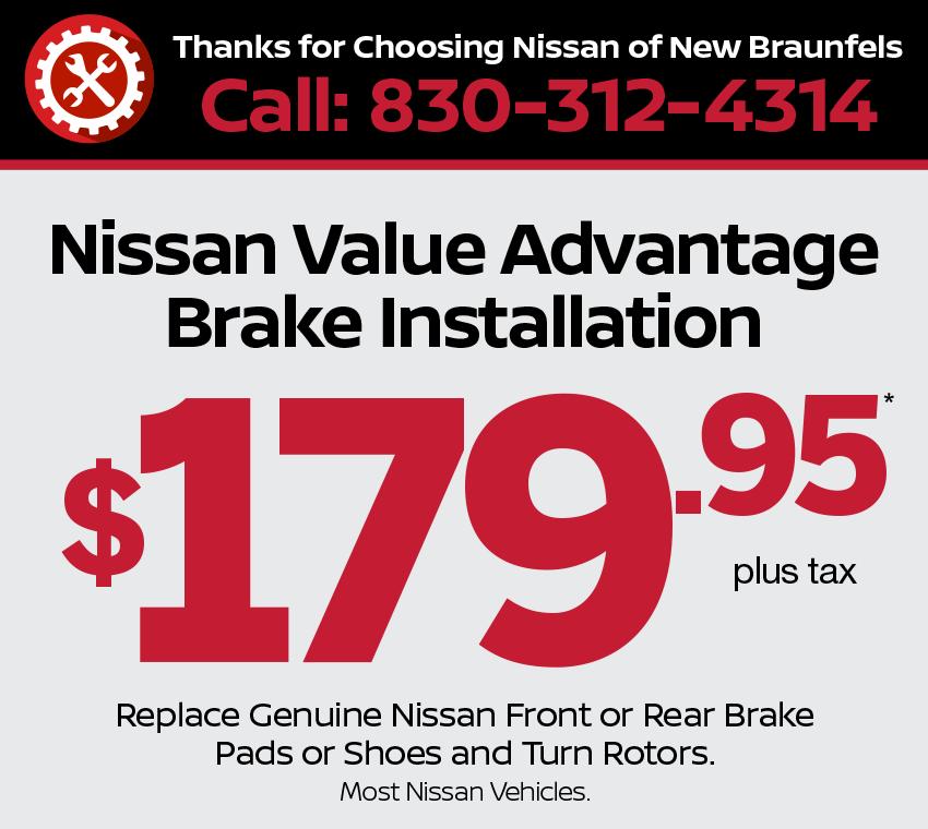 Brake Installation Specials