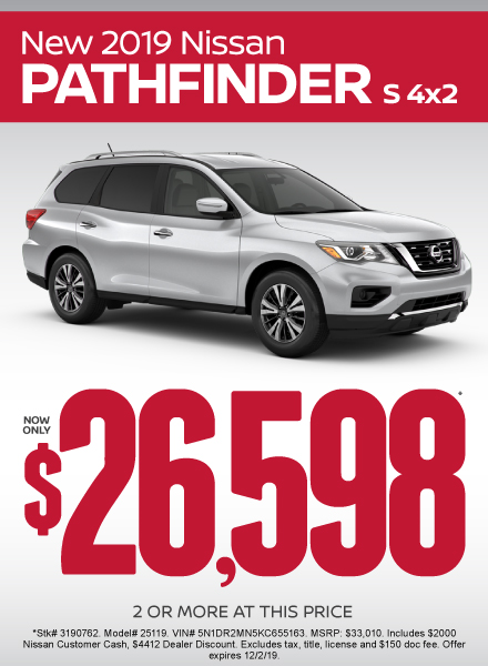 Nissan Pathfinder Special Offer
