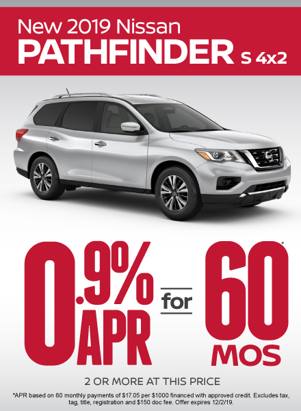 Nissan Pathfinder Sale