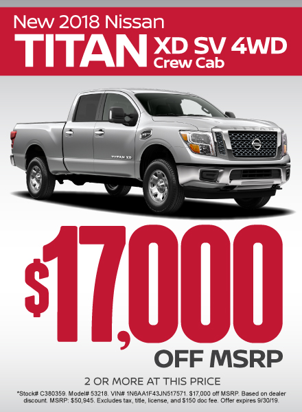 Titan XD Special - Click Here to Take Advantage of this Offer