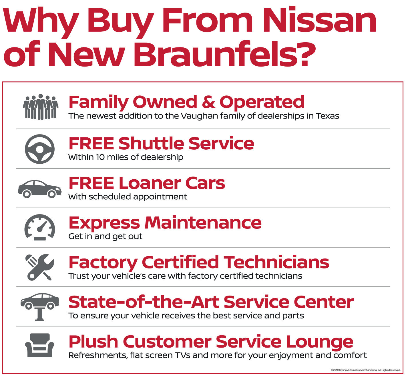 Why Buy from Nissan of New Braunfels?