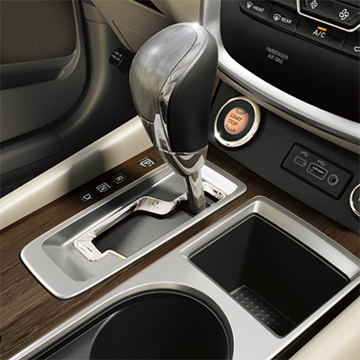 2019 Nissan Murano Middle Console