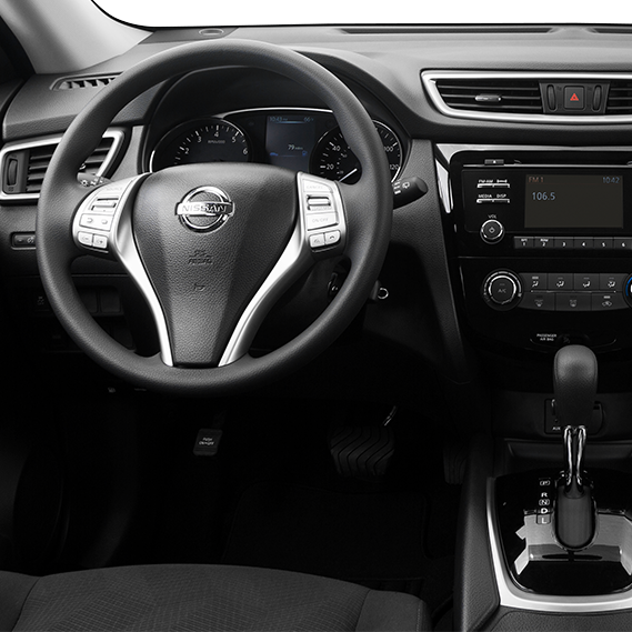 2016 Nissan Rogue Interior Features