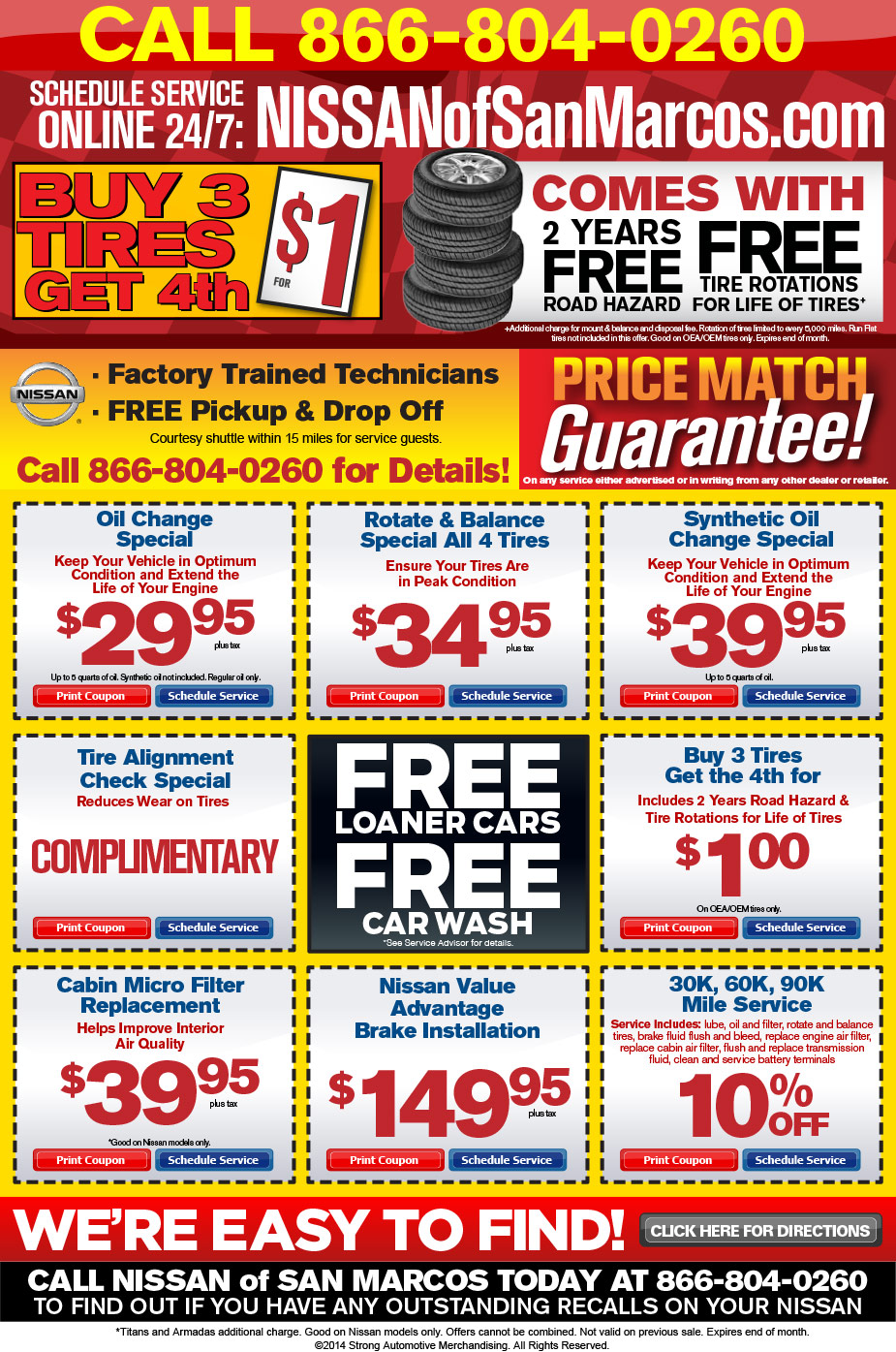 Marcos in store coupons