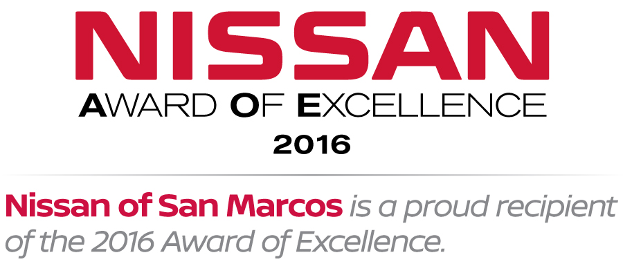 Nissan Award of Excellence 2016