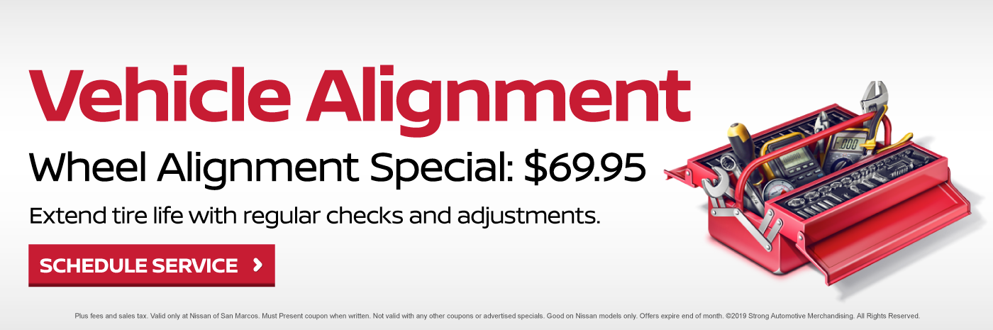 Vehicle Alignment Special