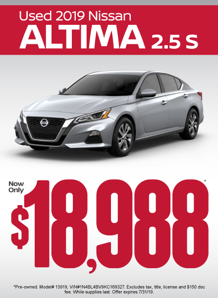 Altima Special - Click Here to Take Advantage of this Offer