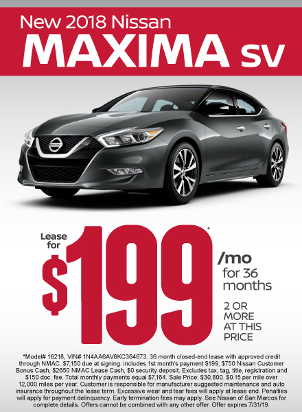 Maxima Special - Click Here to Take Advantage of this Offer
