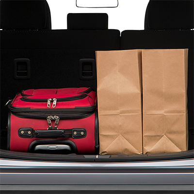 Outlander Trunk space