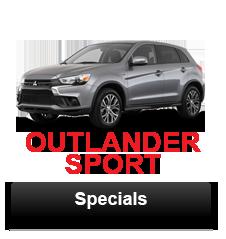 Outlander Sport Specials