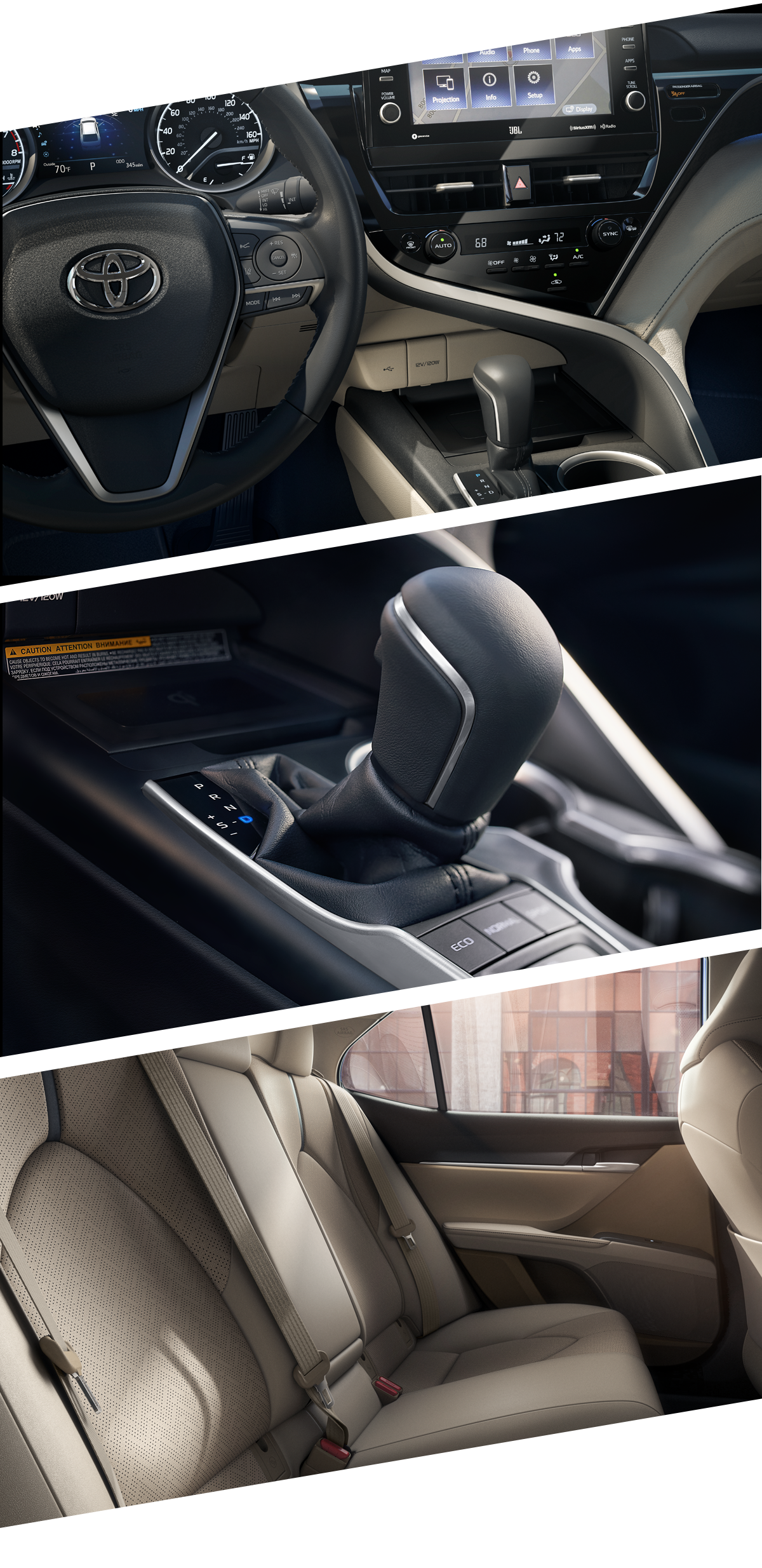 2021 Toyota Camry Interior Greenville, MS