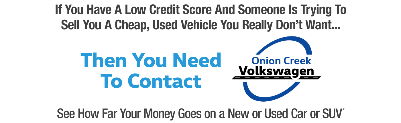 special financing onion creek volkswagen  austin tx