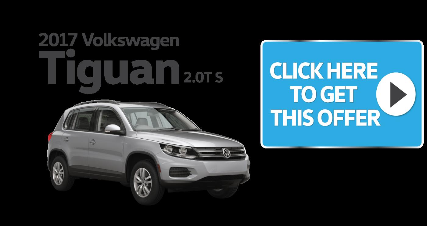 new 2017 Volkswagen Tiguan Special