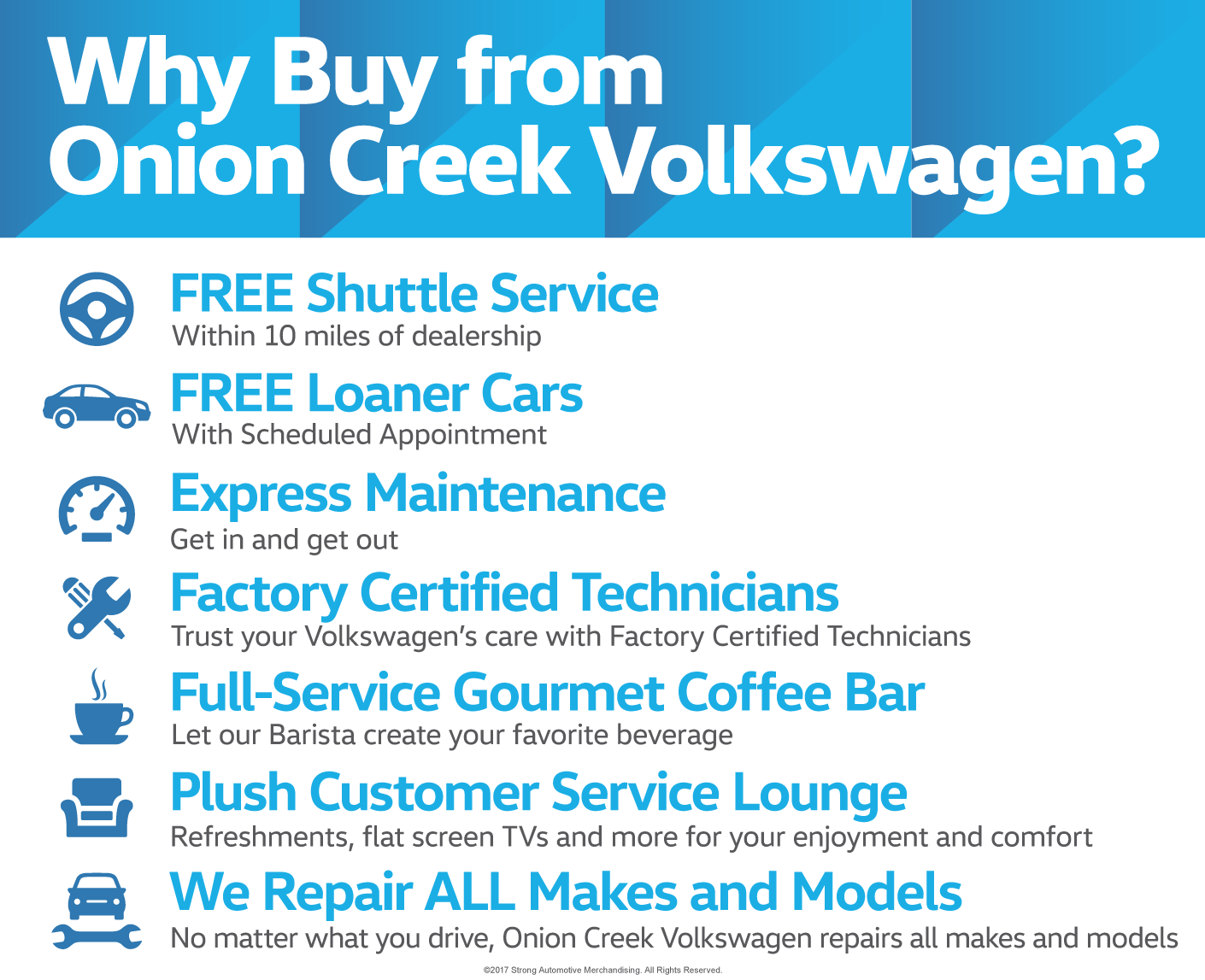 Why Buy from Onion Creek Volkswagen