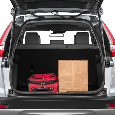 CR-V Trunk space