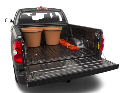 2020 Toyota Tundra Trunk Space