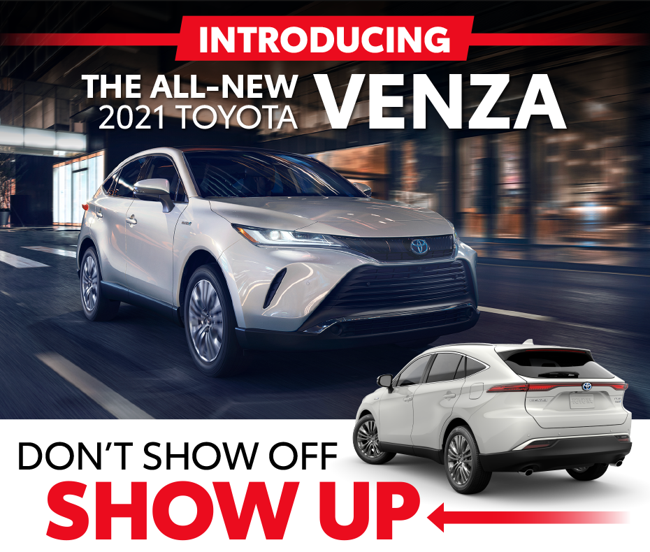 Introducing the ALl-New 2021 Toyota Venza at Toyota of McKinney - Don't Show Off, SHOW UP