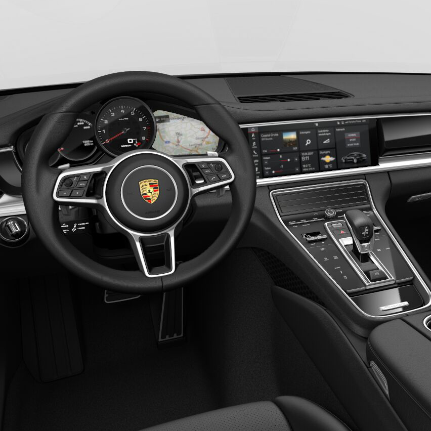 Porsche panamera 2018 interior best new cars for 2018 for Porsche panamera interior dimensions