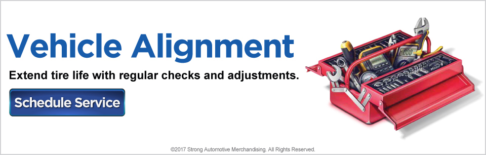 Vehicle Alignment. Extend tire life with regular checks and adjustments. Click here to schedule service with Renaldo Auto Mall.