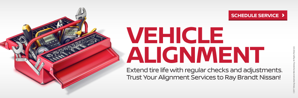 Vehicle Alignment - Click Here Schedule Service