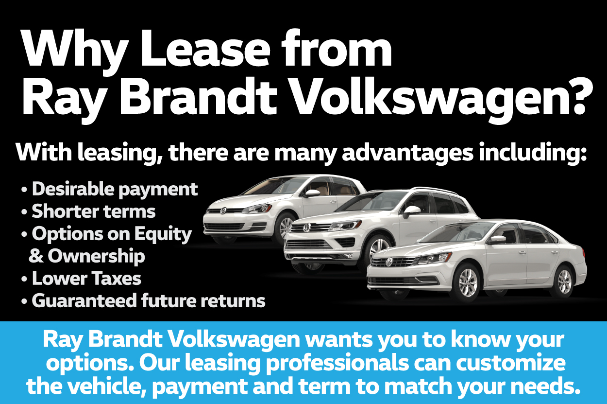 Why Lease from Ray Brandt Volkswagen