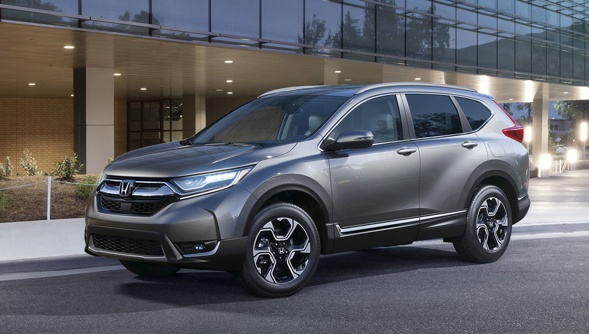 The 2018 Honda CR-V