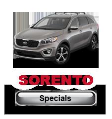 Kia Sorento Specials