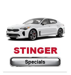 Kia Stinger Specials