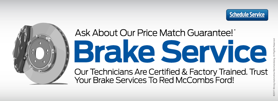 Brake Service at Red McCombs in Texas  sc 1 st  Red McCombs Ford | New Ford dealership in San Antonio TX 78230 & Red McCombs Ford | New Ford dealership in San Antonio TX 78230 markmcfarlin.com