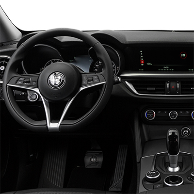 2018 alfa romeo stelvio in vienna virginia interior features steering wheel