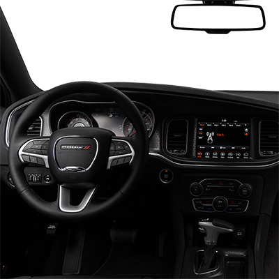 Dodge Charger in Fredericksburg Virginia interior features steering wheel