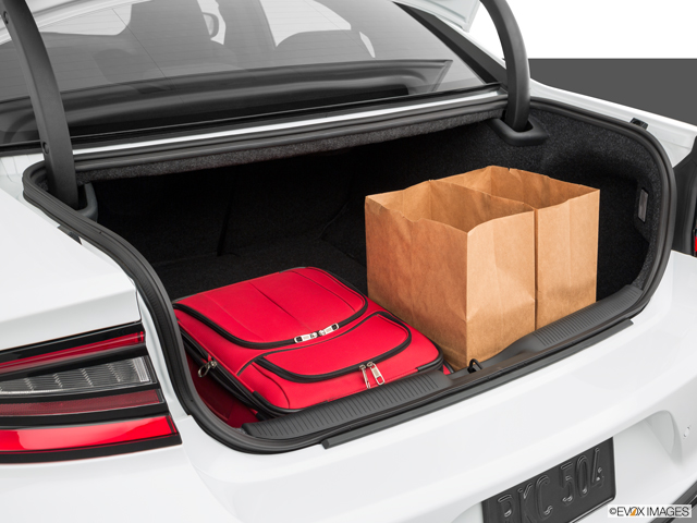 Dodge Charger Trunk Space