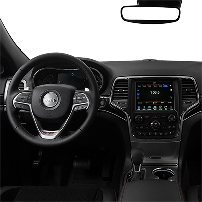 Jeep Grand Cherokee in Springfield Virginia interior features steering wheel