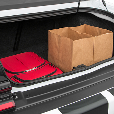 Dodge Challenger SRT Hellcat Trunk