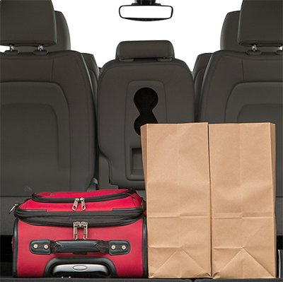 Pre-Owned Chrysler Pacifica Trunk Space