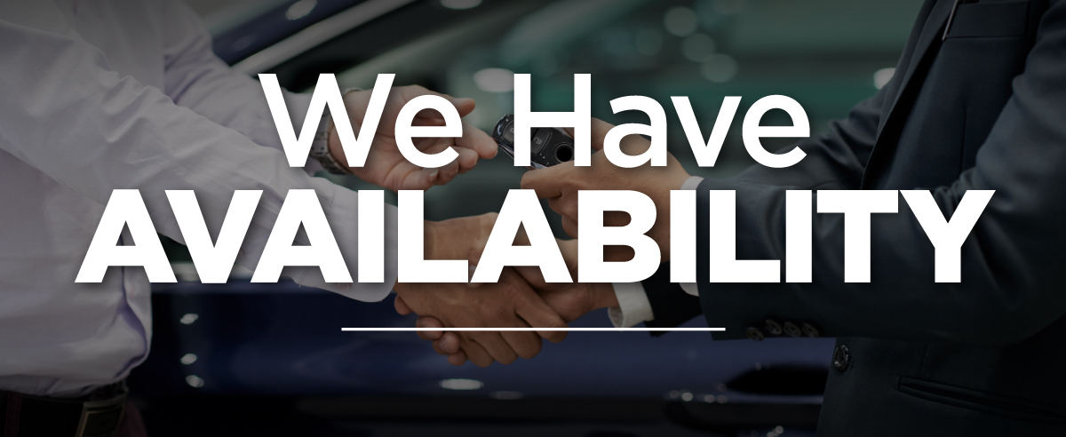 We Have Availability at Sycamore Chrysler Dodge Jeep Ram