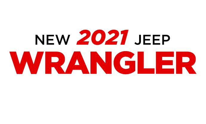 New 2021 Jeep Wrangler